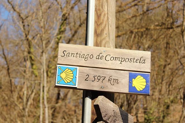 Nature, Jakobsweg, Santiago De Compostela, Distance