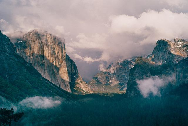 El Capitan, Yosemite, Park, Nature, National