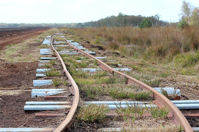 Railway Rails, Seemed, Track, Nature, Endless