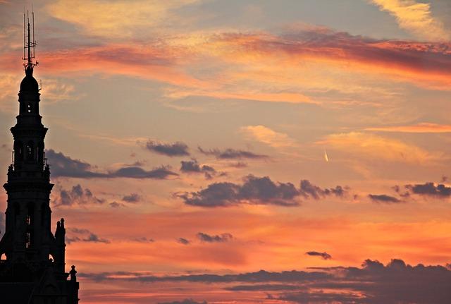 Sunset, Evening Sky, Atmospheric, Nature, Clouds, Sky