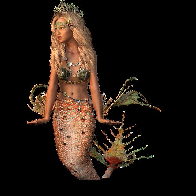 Mermaid, Water Creature, Creature, Nature, Female
