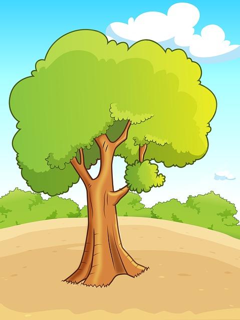 Flying, Nature, Tree, Landscape, Autumn, Sky, Old Tree