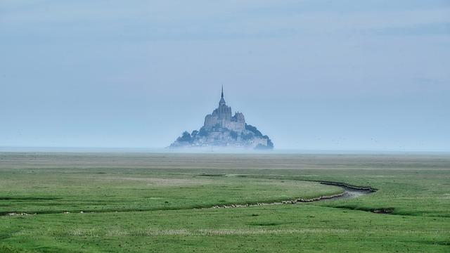 Island, Landscape, Nature, Fog, Morgenstimmung