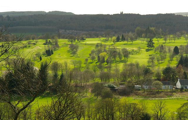 Scotland, City Of Stirling, Golf, Nature