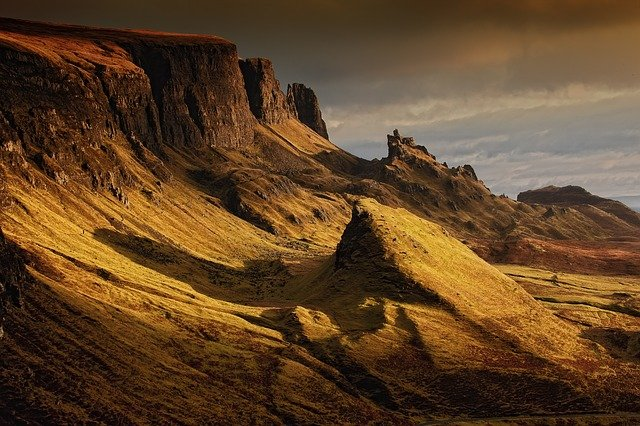 Landscape, Scotland, Nature, Highlands And Islands