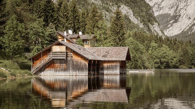 Wood, Nature, Waters, Home, Tree, Lake, Summer