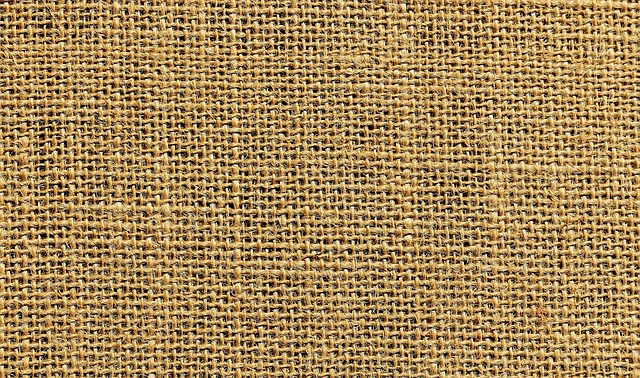 Jute, Tissue, Textile, Fabric, Coarse, Beige, Nature