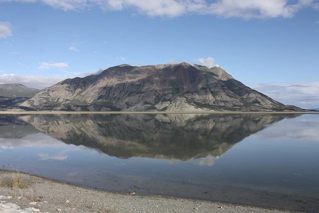 Kluane Lake, Yukon, Canada, Nature, Yukon Territory
