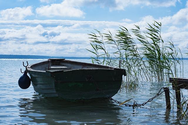 Lake Balaton, Lake, Body Of Water, Nature, Boat, Travel