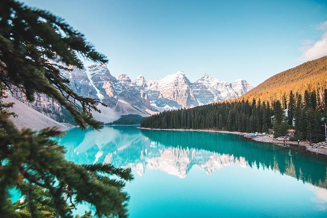 Banff, Alberta, Canada, Landscape, Nature, Water