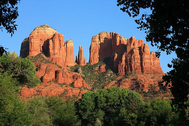 Arizona, Sedona, Canyon, Nature, Mountain, Landscape