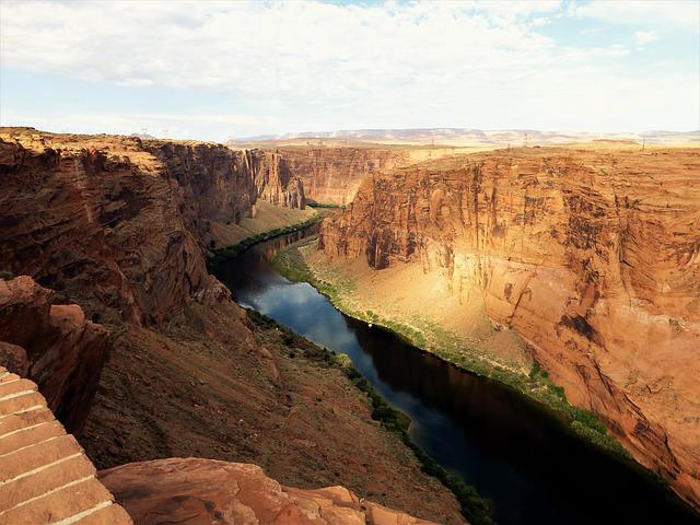 Nature, Canyon, Landscape, Colorado, River, No Person