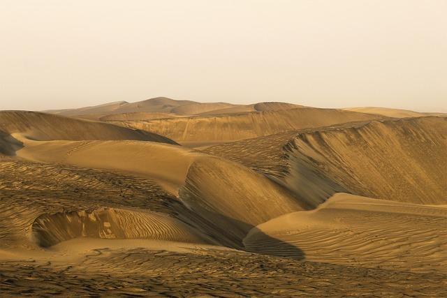 Dry Weather, Desert, Dune, Hot, Sand, Nature, Landscape