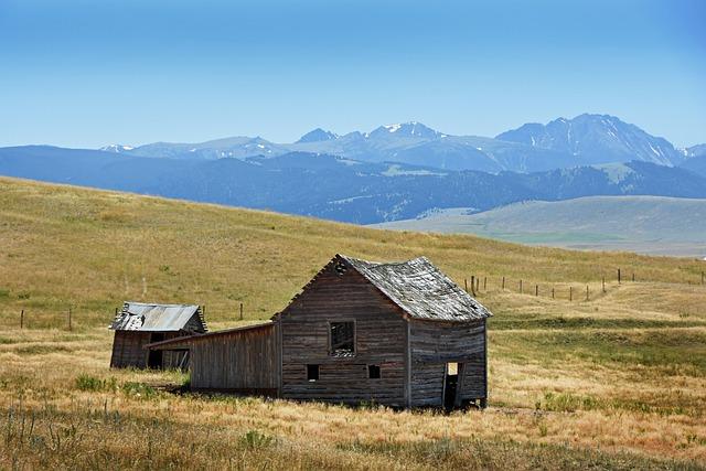 Barn, Landscape, Farm, Horizontal Plane, Nature
