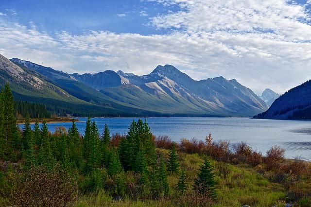 Scenery, Lake, Mountains, Nature, Landscape