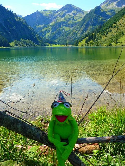 Vilsalpsee, Lake, Mountains, Water, Landscape, Nature