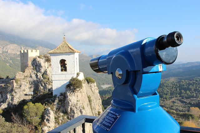 Mountain, Telescope, Viewpoint, Nature, Landscape