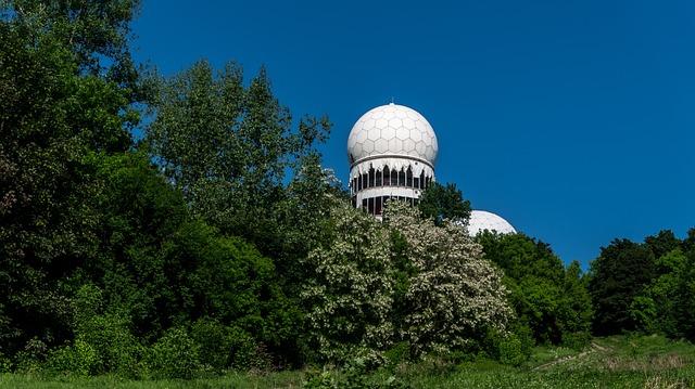 Nature, Trees, Radar Station, Landscape, Leave