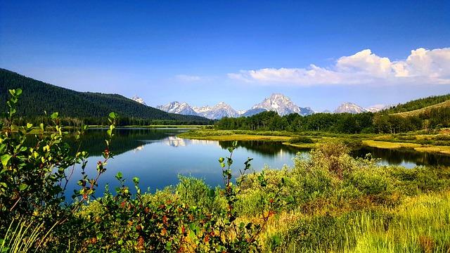 Nature, Water, Lake, Landscape, Sky, Panoramic, Travel