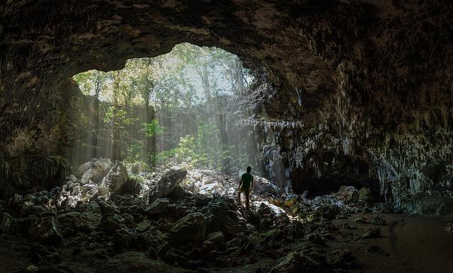 Cave, Light, Nature, Rock, Landscape, Dark, Mysterious
