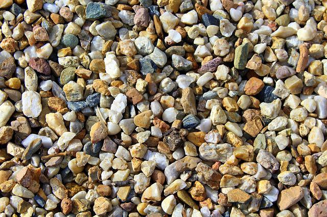 Pebbles, Decking, Texture, Model, Nature