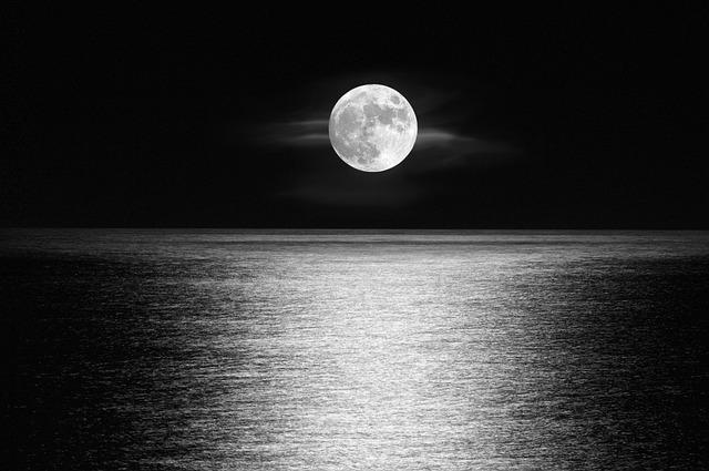 Moon, Astronomy, Sky, Nature