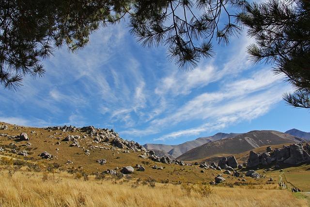Blue Sky, Mountain, Alps, Hill, Nature, Beautiful
