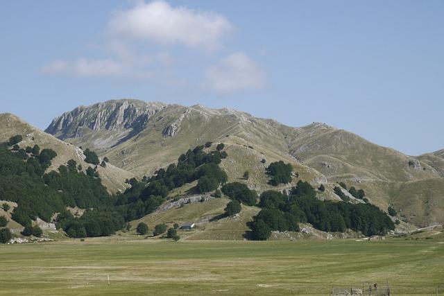 Mountain, Green, Sky, Nature, Rock, Steep, Summer