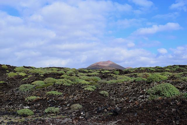 Nature, Landscape, Sky, Mountain, Travel, Field, Lava