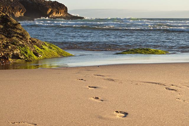 Portugal, Cascais, Ocean, Sea, Nature, Coast, Summer