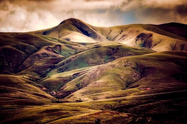 Iceland, Hills, Nature, Outdoors, Landscape, Country