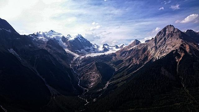 Mountain, Panoramic, Nature, Snow, Landscape, Glacier
