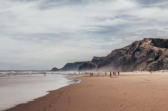 Algarve, Sea, O, Ocean, Portugal, Beach, Nature