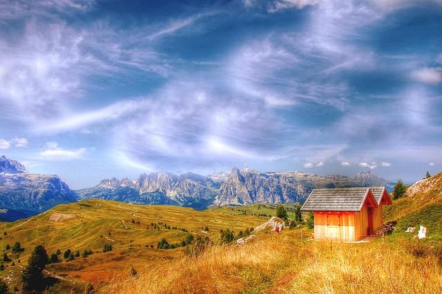 Alta Badia, Pralongia Alpe, Dolomites, Alm, Nature