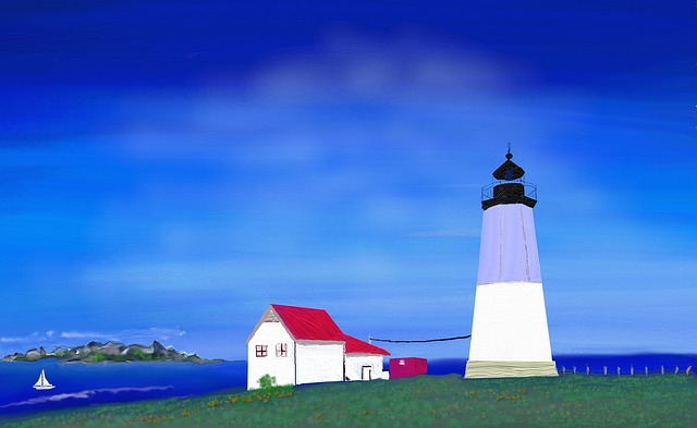 Lighthouse, Nature Reserve, Mood, Dune Landscape
