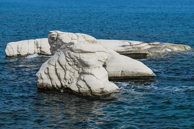 Rock, White, Rocky Coast, Nature, Sea, Seashore