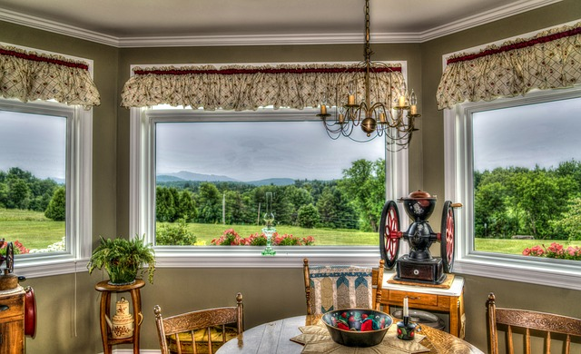 Vermont, Scenery, Rural, Dining Room, Landscape, Nature
