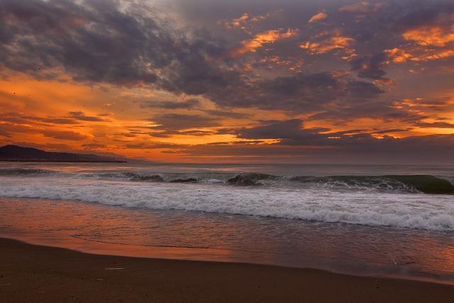 Beach, Clouds, Nature, Ocean, Sand, Sea, Seascape
