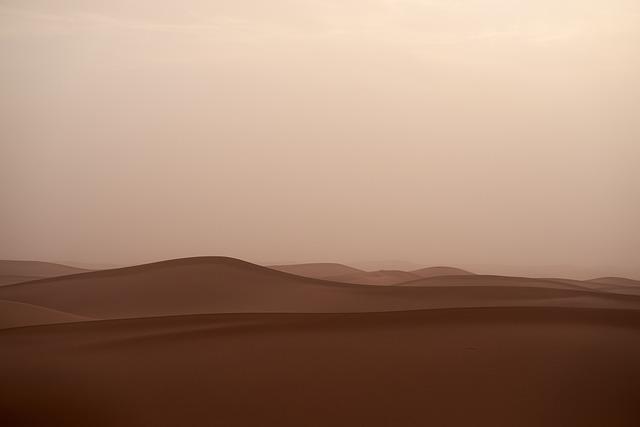 Sandstorm, Trueb, Desert, Sand, Landscape, Nature