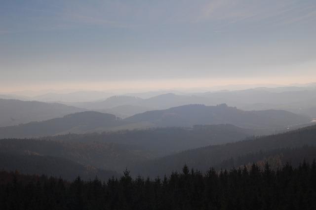Sauerland, Forest, Germany, Nature, Highlands