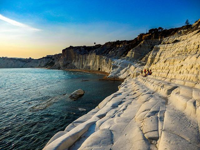 Landscape, Nature, Cliff White, Scala Dei Turchi