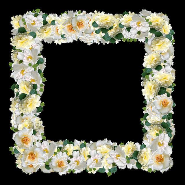 Roses, Flowers, Framework, Nature, Scrapbooking