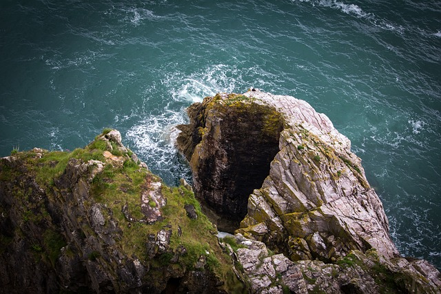 Sea, Ocean, Cliffs, Nature, Water, Seascape, Coast