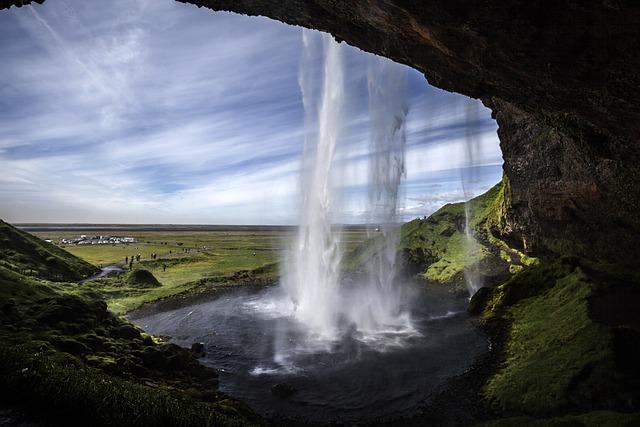 Seljalandsfoss, Waterfall, Iceland, Nature, Power