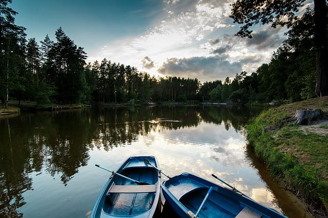 Lake, Boat, Boats, Nature, Tranquility, Silence, Autumn