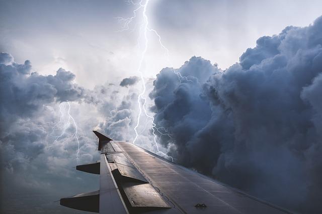 Aircraft, Flying, Sky, Cloud, Nature, Storm