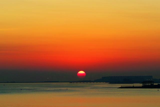 Day Nativity, Dawn, Marine, Nature, Sky, Solar, Doha