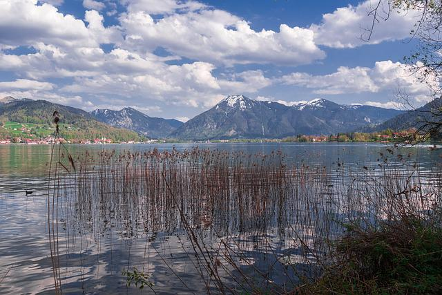 Lake, Nature, Landscape, Sky
