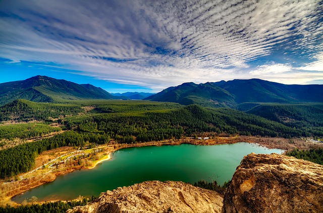 Washington, Landscape, Sky, Clouds, Scenic, Nature