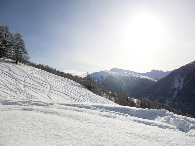 Mountain, Nature, Queiras, Alps, Landscape, Snow